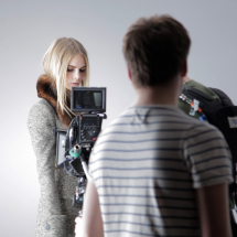 Camera shooting Lookbook Fashion