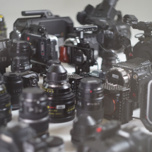 Cameras and Lenses Available