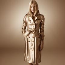 Burberry Gold Prorsum shoot