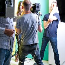Model Select in the Bloomsbury studio