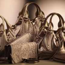 Burberry Gold Accessories shoot