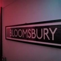 Bloomsbury film studio central London interviews